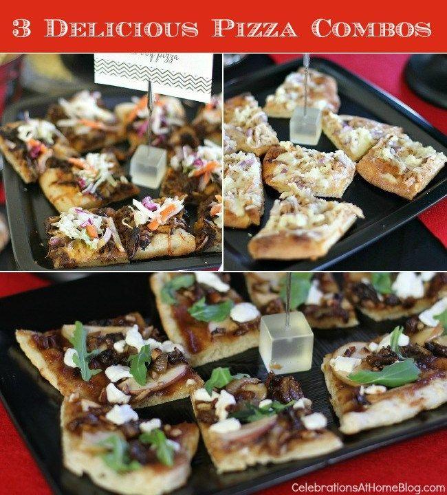 3 UNIQUE & DELICIOUS PIZZA COMBOS #pizza