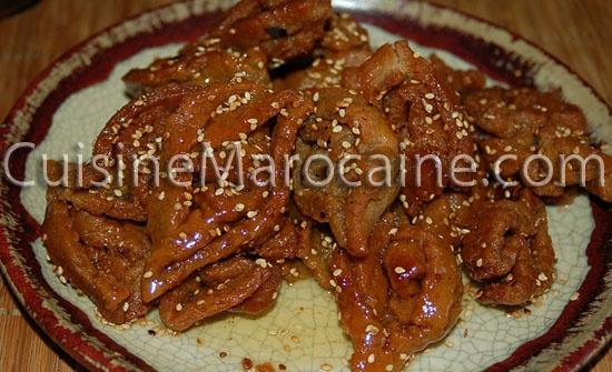 Recette de Halwa aux cacahuètes  cuisine marocaine à base de oeufs  Dico