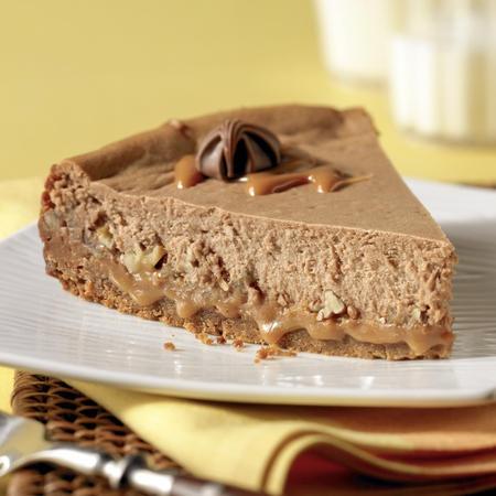 Brach's Milk Chocolate Turtle Cheesecake | I Heart Cooking | Pinterest