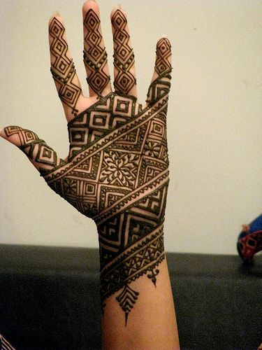 Mehandi Design for Palm 1
