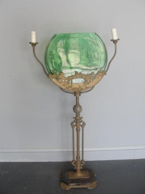 Pin by julie snyder on antique fish bowls aquariums for Fish bowl stand