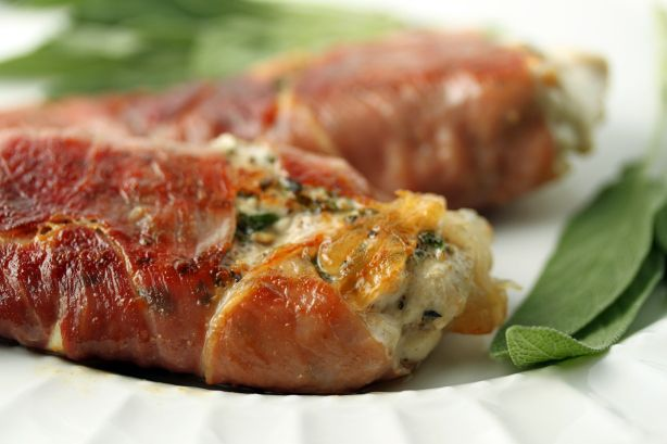 Chicken Saltimbocca low cal way use a bit of wine..provalone