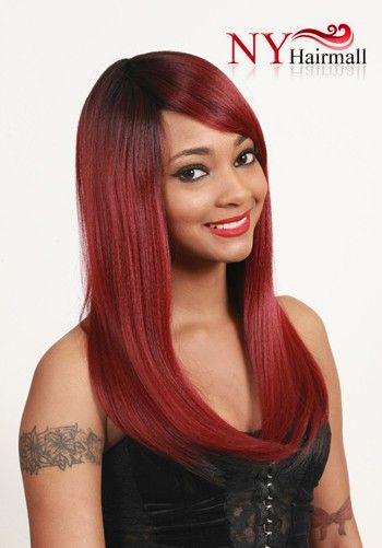 New wig update junee fashion new manhattan style human mix rich 5