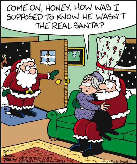 don't know if that counts then... | Christmas: Comics, Art, Etc ...
