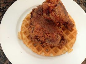 Gluten free chicken and waffles | Gluten Free | Pinterest