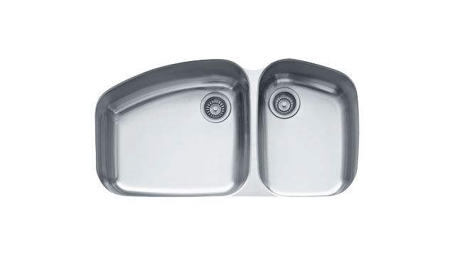 Franke Sink Inserts : Franke Kitchen Sinks Vision VNX12037 Stainless Steel
