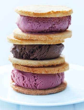 Coconut macaroon ice cream sandwiches | Cold As Ice | Pinterest