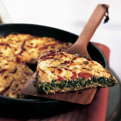 Spinach and Leek Frittata - wonder if I can find gluten free frozen ...