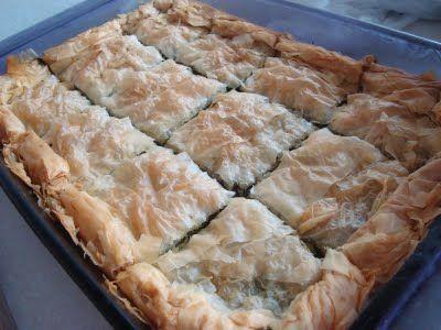 Cookin, Chicago?: Spanakopita (Greek Spinach Pie) don't want a pie ...