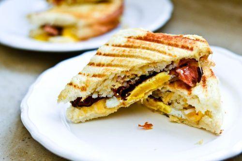 Breakfast Panini | Breakfast & Brunch | Pinterest