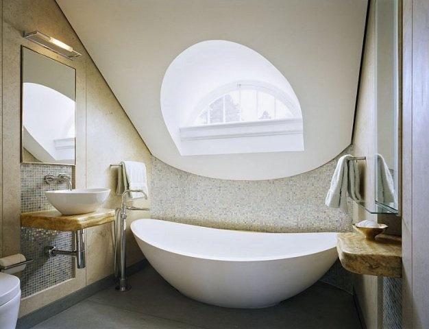 Eyebrow dormer for the bath pinterest for Bathroom dormer design