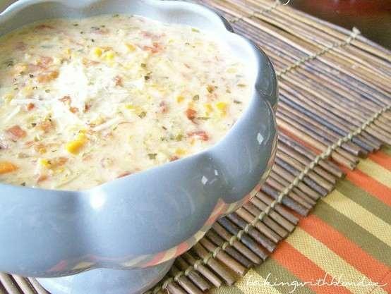 SLOW COOKER PARMESAN TOMATO BASIL SOUP | Food | Pinterest