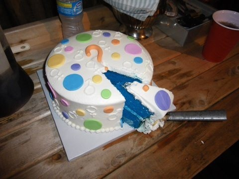 baby showers gender reveal cakes showerful events pinterest