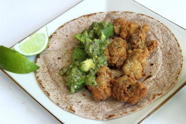 Fried Oyster Tacos | Recipes - Assorted | Pinterest