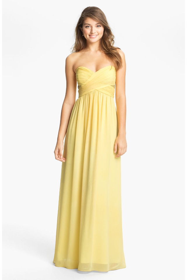 Nordstrom Prom Dresses Yellow 15