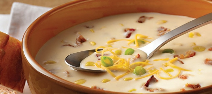 All-Star Potato, Bacon and Corn Chowder | A recipes | Pinterest