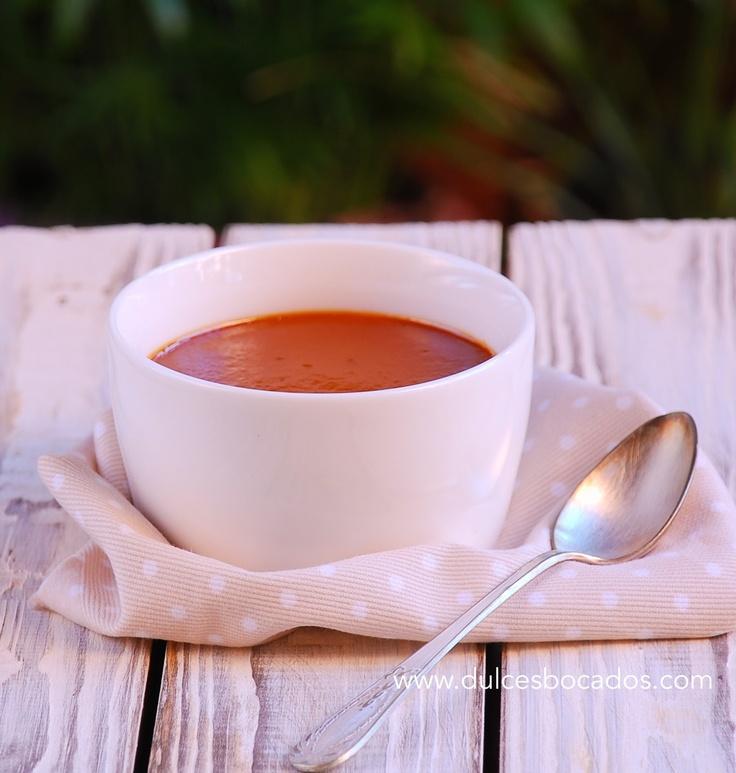 Crema de caramelo (toffee) -  Caramel custard