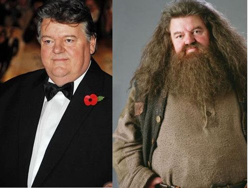 hagrid actor how tall