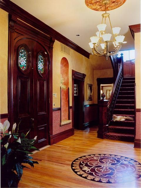 Victorian Home Foyer : Entryway victorian homes pinterest