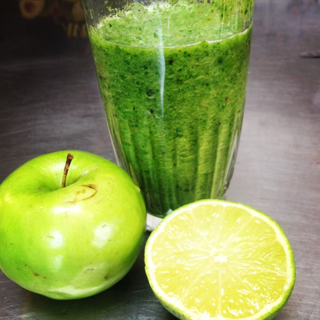 sour green apple smoothie | Food and drink recipes | Pinterest