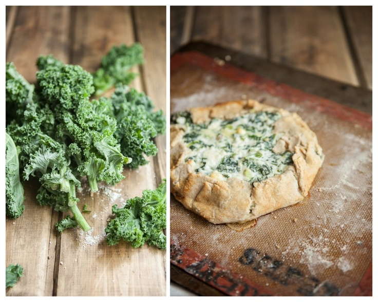 Kale and Feta Galette | Recipe