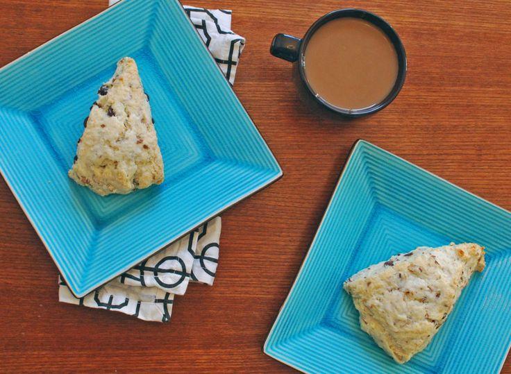 Chocolate Coconut Almond Scones | Recipe