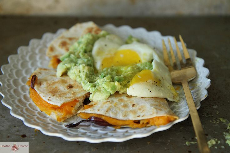 Cheese Quesadillas With Guacamole Recipe — Dishmaps