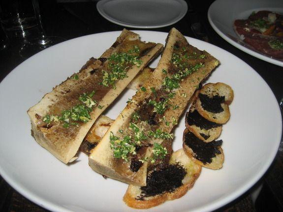 Roasted bone marrow | Food Snobbery | Pinterest