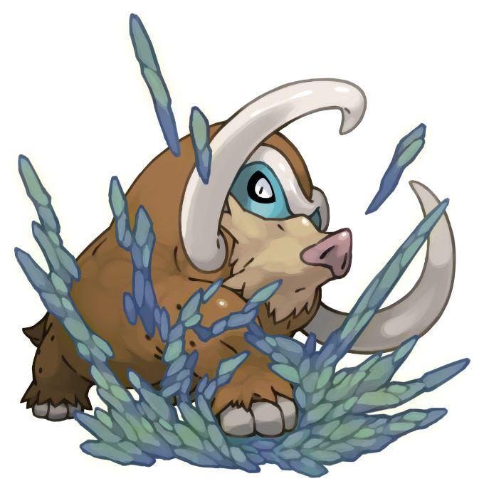 how to get mamoswine in pokemon x
