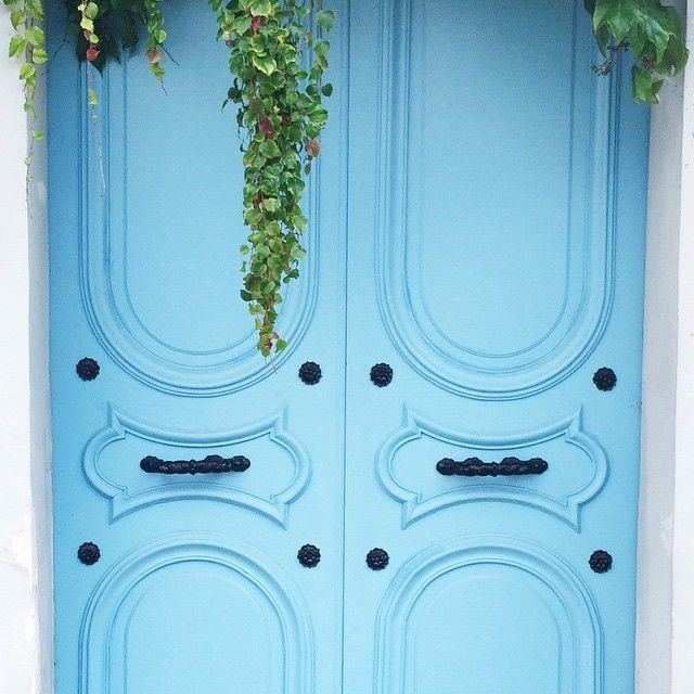 Paris doors. Doesn't