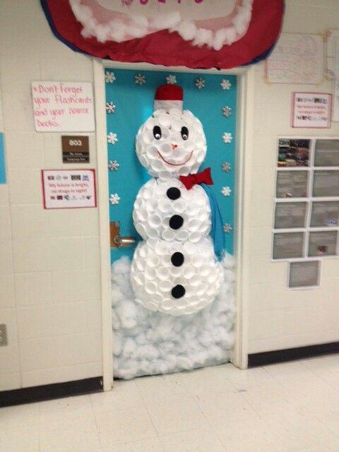Winter Wonderland Classroom Door Decorations : Winter wonderland door decoration classroom decor