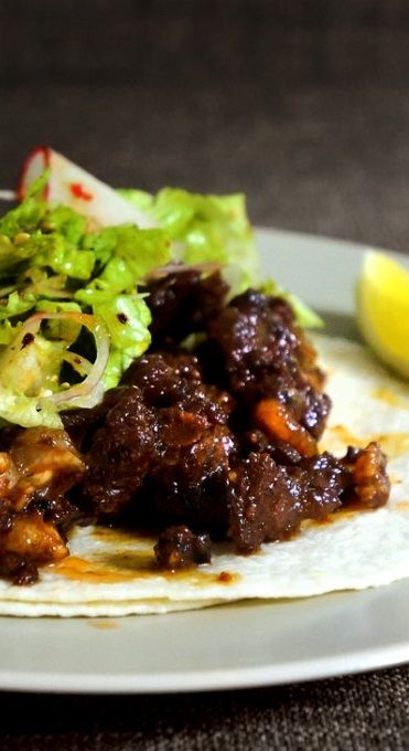 Korean short rib tacos | Recipes: Main Course | Pinterest