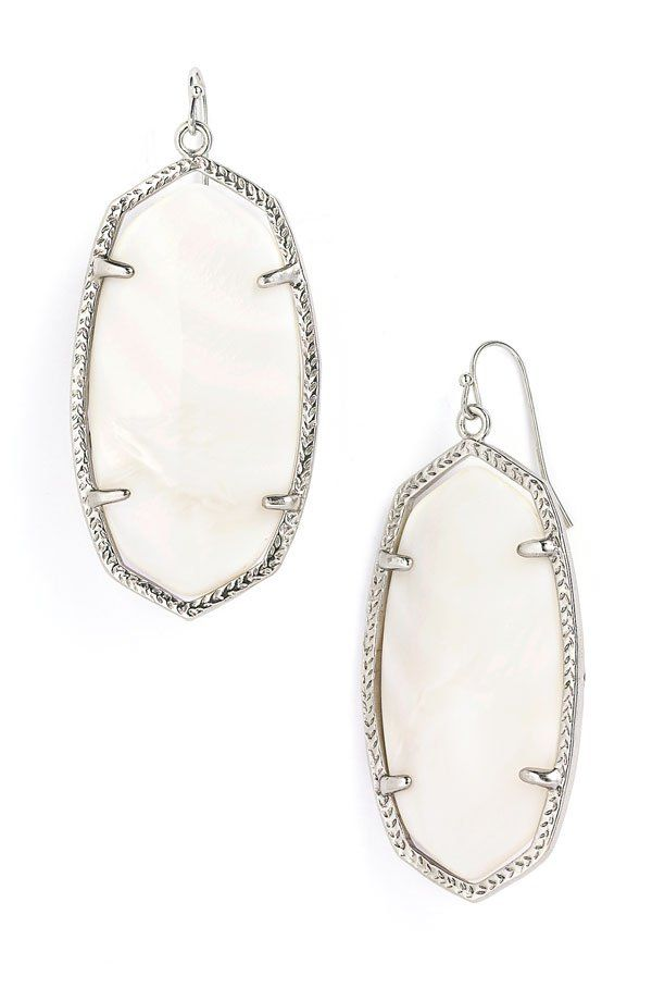 Kendra Scott Danielle Shell Earrings Nordstrom | Popsiculture Frugal ...