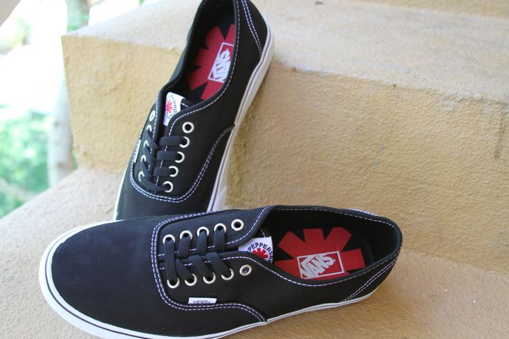 Red Hot Chili Pepper Vans Shoes