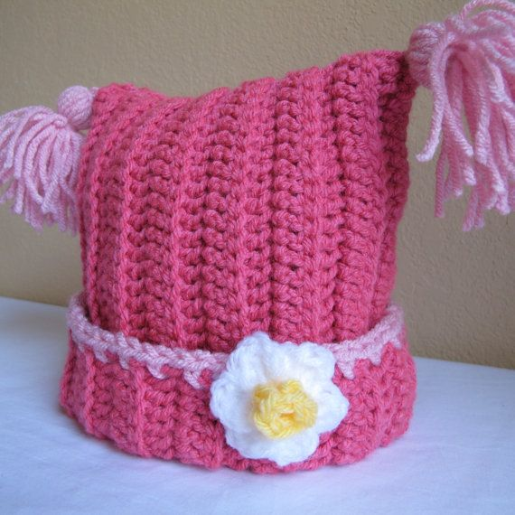 CROCHET PATTERN - Winter Whimsy - A square hat with ...
