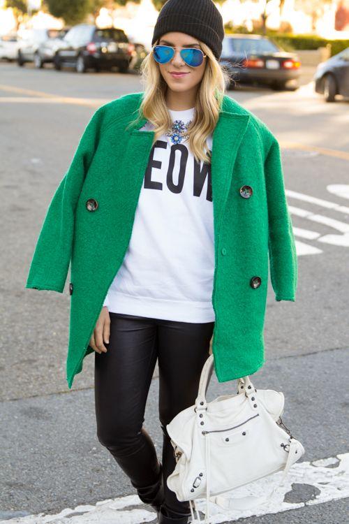 Green Coat. #coat #green