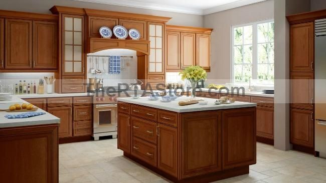 Copper Caramel Kitchen Cabinets  Kitchen & Family Remodel Design Boa