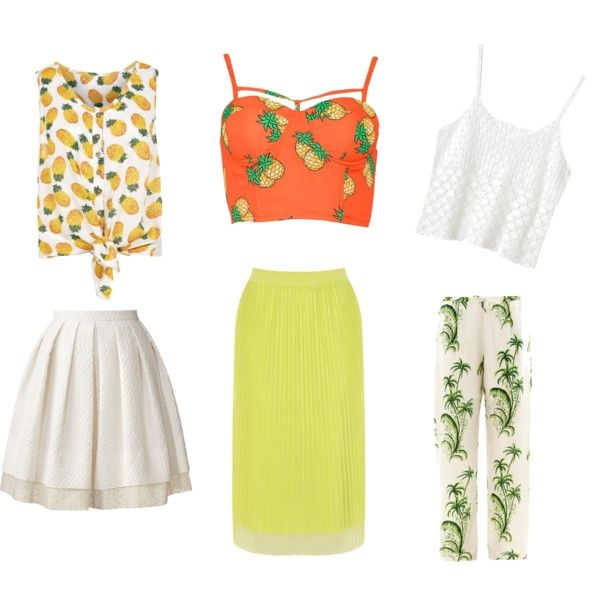 """fruity"" by lenahcaruana on Polyvore"