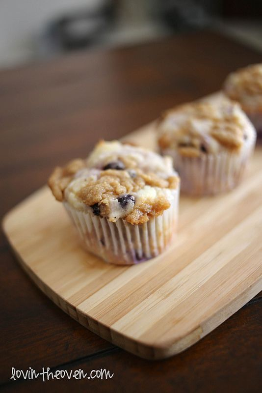 Lovin' From The Oven:blueberry lemon coffee cake muffins