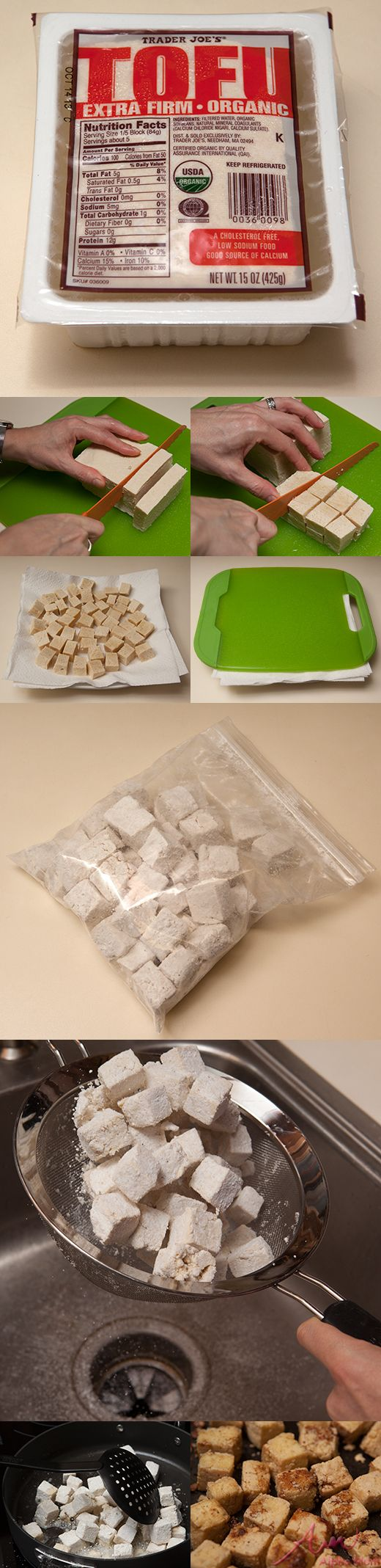 Fool-Proof Tofu Preparation: This simple tofu preparation will convert you. You think that you don't like tofu, but that might be because you don't know how to coax great texture out of it.