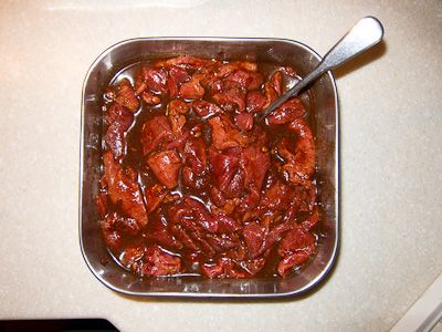 Sweet Chipotle marinated beef for jerky | JERKY | Pinterest