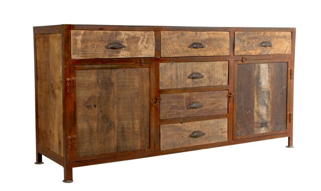 Muebles de madera reciclada muebles pinterest for Muebles con madera reciclada