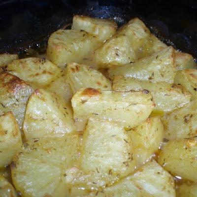 Kevin's Famous Greek-Style Potatoes | Mmmm Food | Pinterest