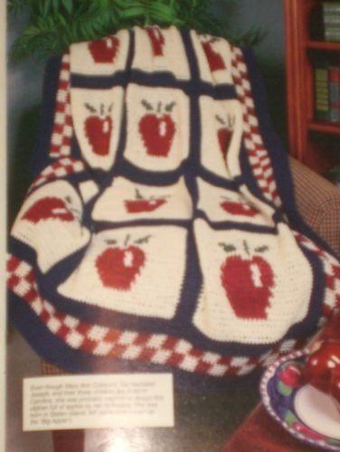Annies CROCHET Newsletter #76 APPLE AFGHANS Sailor Teddy Bears Doily ...