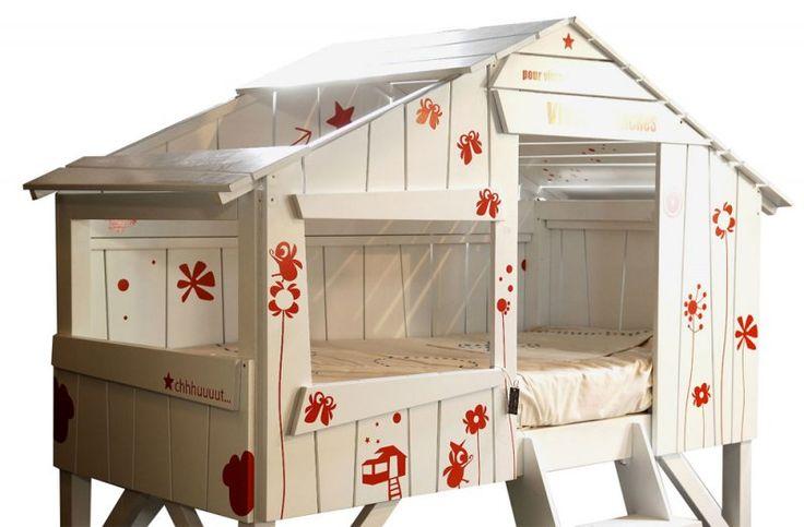 Treehouse toddler bed cottage pinterest for Treehouse toddler bed