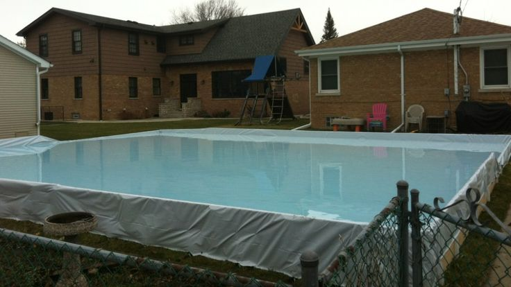backyard ice rinks by iron sleek inc available in canada and usa