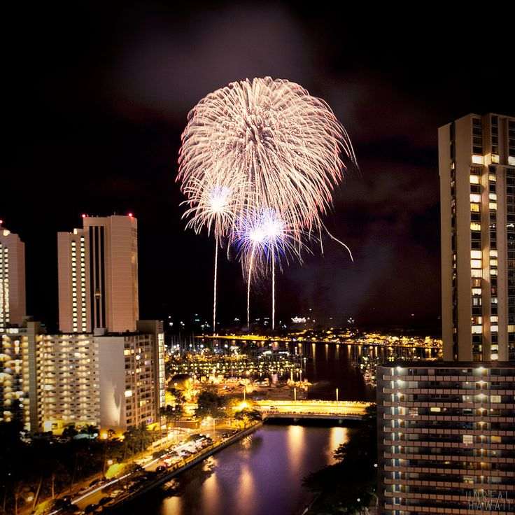 july 4th fireworks oahu 2015