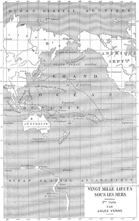 """""""Vingt Mille Lieues sous les Mers"""" - Jules Verne"""