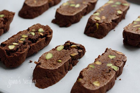 Chocolate Pistachio Biscotti: to change up the annual biscotti ...