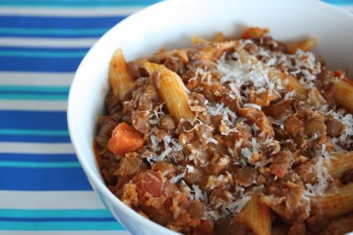 Lentil and Penne Soup | Yummy Veggie Food | Pinterest